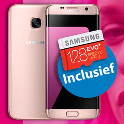 Samsung Galaxy S7 Edge Gratis 128GB MicroSD