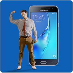 Samsung  Galaxy J3 (2016) Sim Only toestel voor weinig!