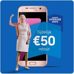 Samsung Galaxy S7 € 50,- retour via Samsung