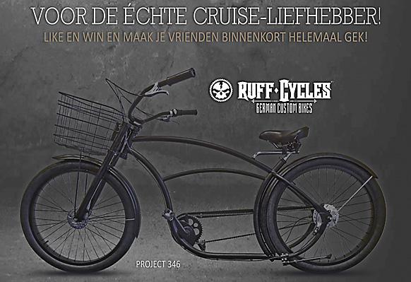 Ruff Cycles actie met Facebook