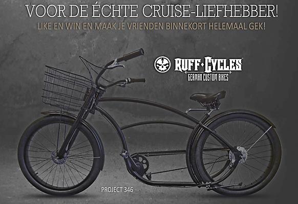 Ruff-Cycless actie met Facebook