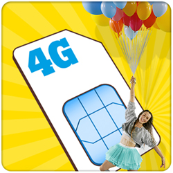 4G Unlimited Sim Only