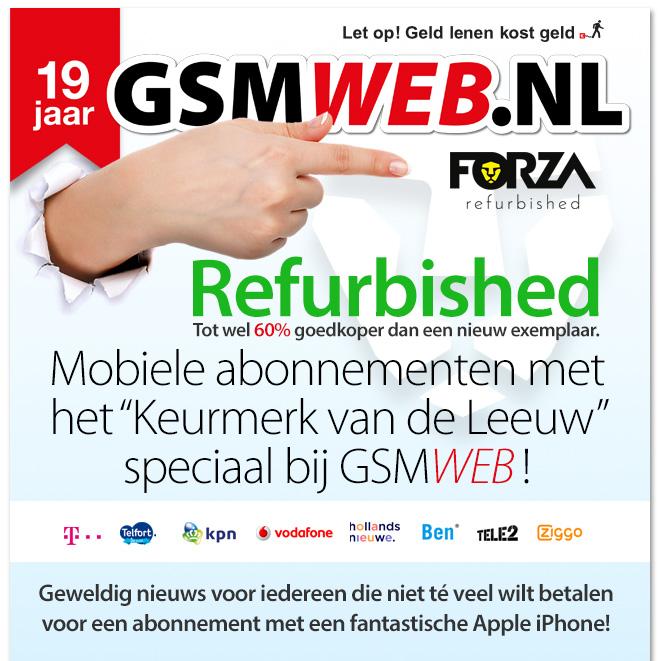 19 jaar GSMWEB.NL