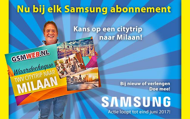 Kans op een citytrip met Samsung!