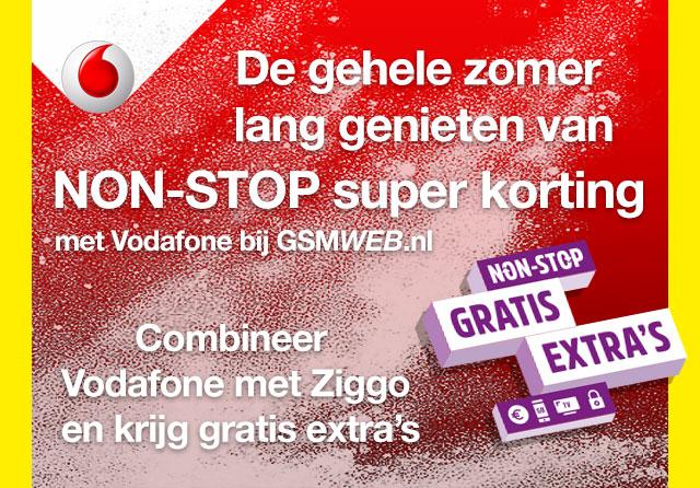 NON-STOP super korting