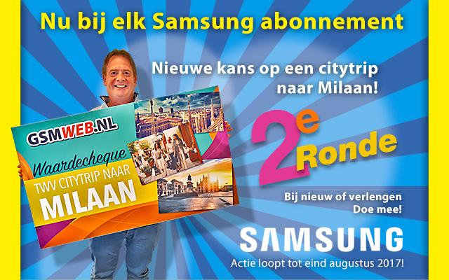Maak kans op een trip naar Milaan met Samsung