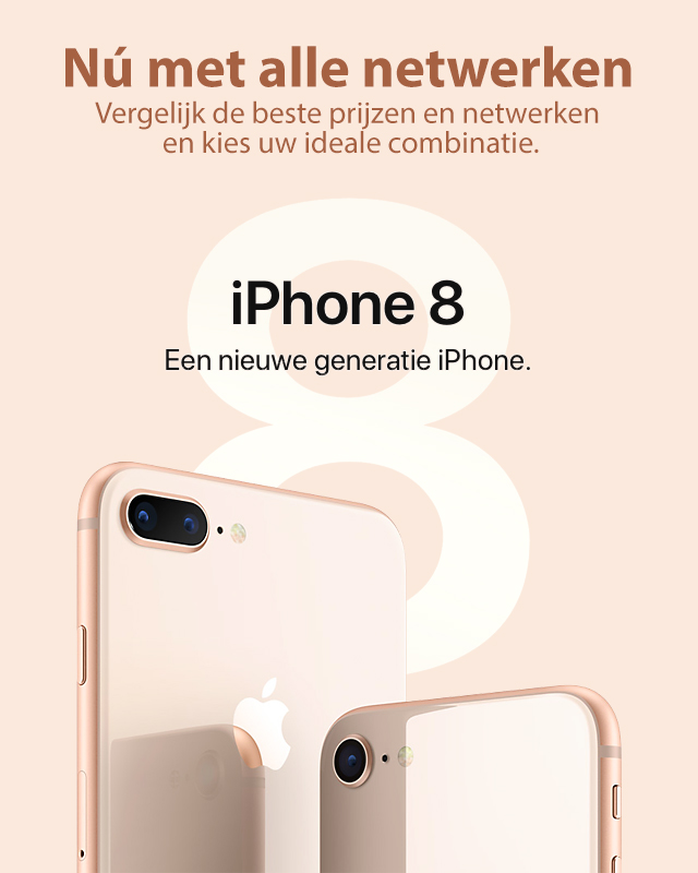 iPhone 8 - Nieuwe generatie.