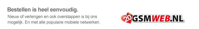 Bestellen is heel eenvoudig bij GSMWEB.NL