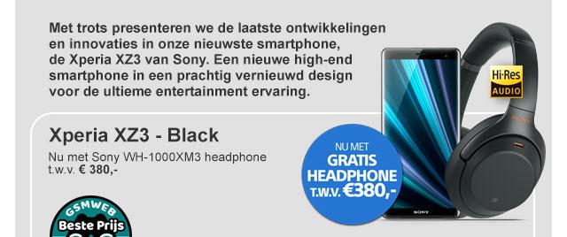 Sony Experia XZ3 - Black