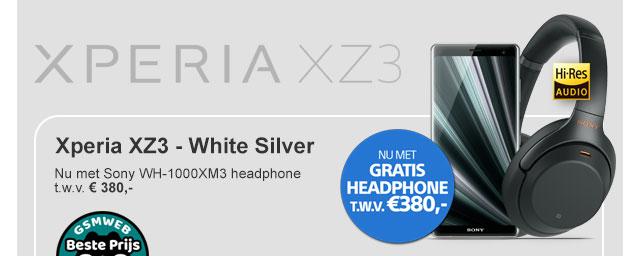 Sony Experia XZ3 - White Silver