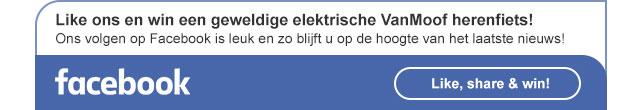 Facebook - Like, share en win!