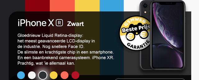 iPhone XR - Zwart