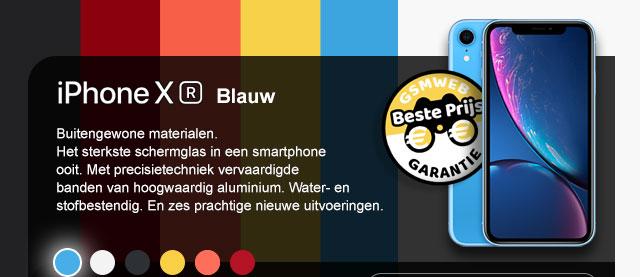 iPhone XR - Blauw