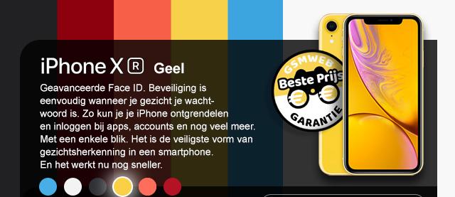 iPhone XR - Geel