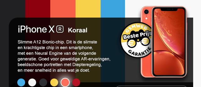 iPhone XR - Koraal