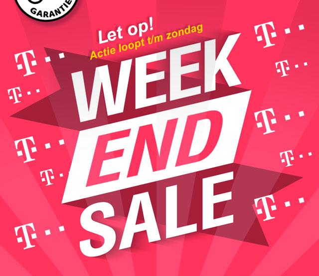 T-Mobile WEEK-END-SALE logo
