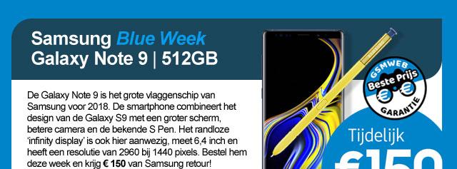 Samsung Blue Week Galaxy Note9 - 512 GB