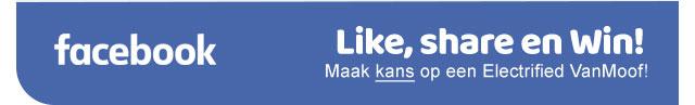 Facebook - Like, share en Win! Maak kans op een VanMoof!
